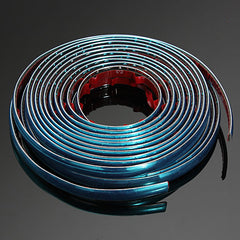 "12mm x 8M(316"") Car Chrome Styling Moulding Adhesive Trim Strip"