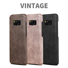 Bakeey™ Retro Soft PU Leather Ultra-thin Shockproof Case Back Cover For Samsung Galaxy S8 Plus