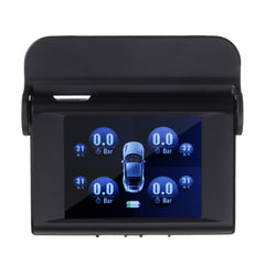 Solar Power Hang Tire Pressure Monitor System TPMS Wireless + 4 Internal Sensor