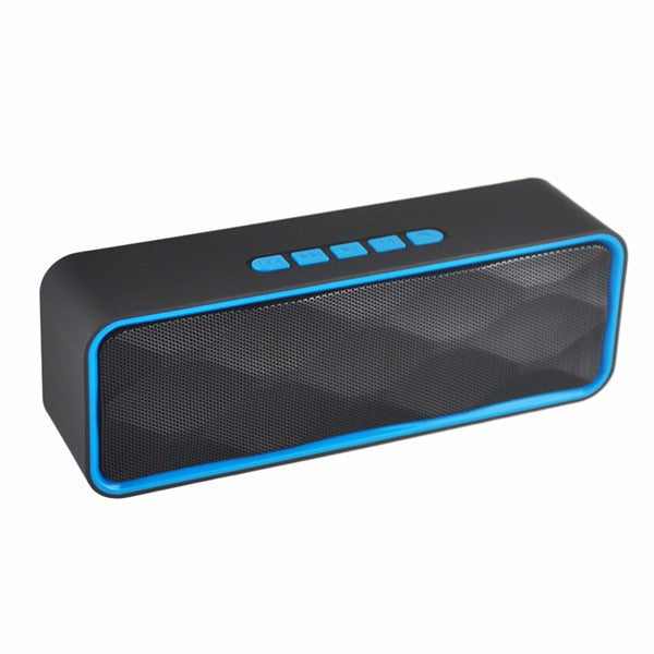 PINDU SC211 Portable Dual Speaker AUX TF Card Hands-free Call Stereo Heavy Bass Bluetooth Speaker