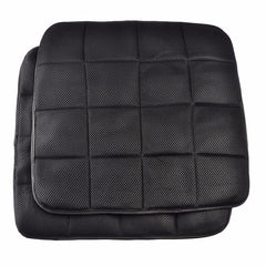 Car Bamboo Charcoal Cushion Mesh Non Slip Breathable Cover Pad 45*45CM