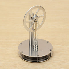 Stirling Engine Model Low Temperature Difference Magnetic Motor Model Kit