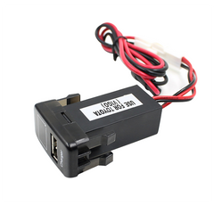 JZ5002-1 Jiazhan Car Battery Charger 2.1A USB Port with Voltage Display Only for Old Toyota Vigo