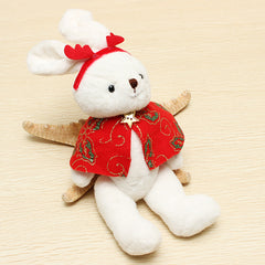 Plush Toys Red Cape Rabbit Doll Kids Toys Christmas Gift