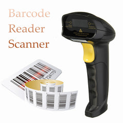 Black USB Handheld Laser Barcode Bar Code Scan Reader Scanner