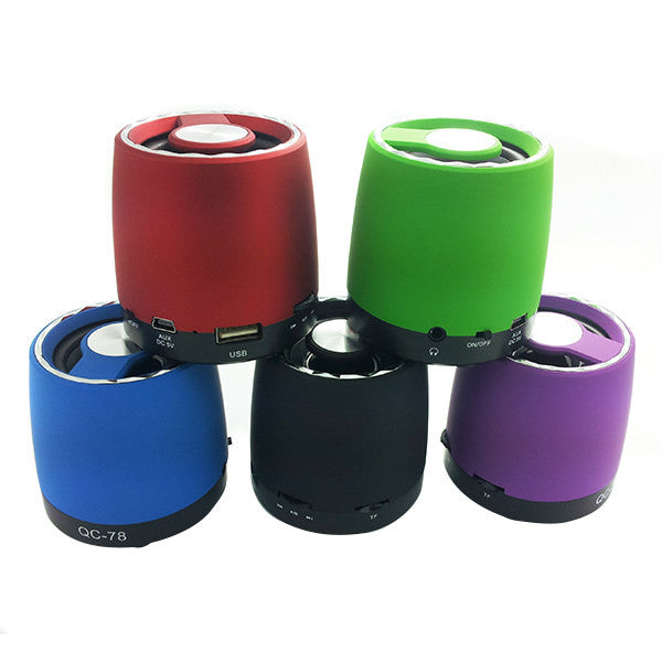 QC-78 Portable Media Player Mini Speaker For Mobile Phone