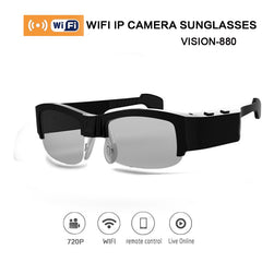 Vision-880 Wifi Camera Sunglasses Video Recorder HD 720P 3 Mega Pixels 8GB For IOS Android Version