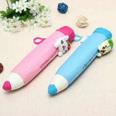 Soft Cartoon Plush Toys Pencil Case Stationery Pouch Bag