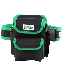 LAOA LA115604 Multifunction Double Layers Oxford Fabric Repair Tool Bags Waist Pack Bag with Belt