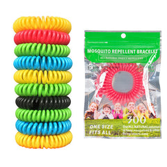 Honana HN-015 10Pcs Mosquito Repellent Bracelet Band Anti Bug Pest Insect Wrist Bands