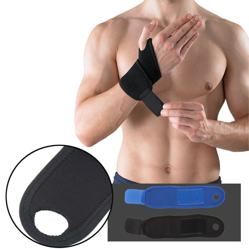 Wil je alles weten over SBR Weight Lifting Basketball Wrist Wrap Bandage Hand Support Strap Brace Band Gym Training? Hier lees je alles over Brace & Support