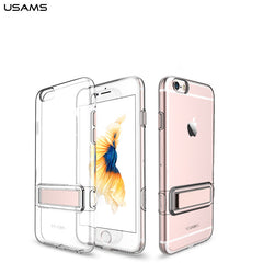 USAMS Lang Series 4.7 Inch Ultrathin Soft TPU Transparent Detachable Cover Case For iPhone 6 6S