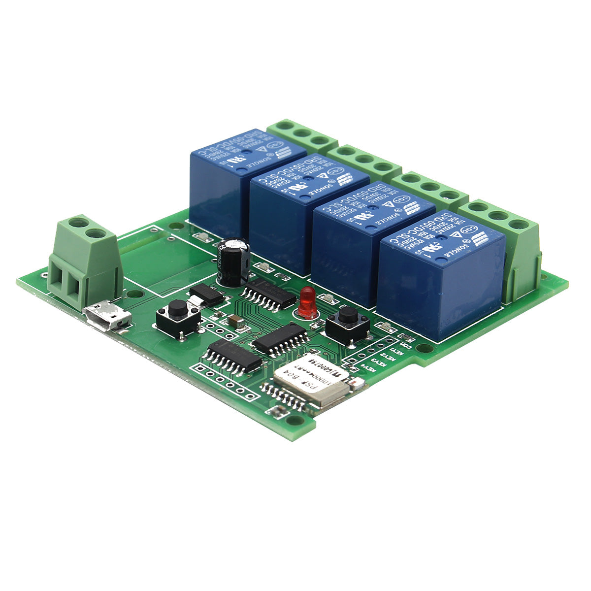 5v Usb Relay 1 Channel Programmable Computer Control For Smart Home 12 V Board Module Controller Automation Robotics Sonoff Or Dc Diy 4 Jog Inching Self Locking Wifi