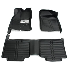 Car Floor Mats Front Rear Liner Mat Cover Left Rudder TPE XPE Leather for Ford Edge 2007-2013