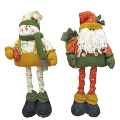 Snowman Santa Claus Father telescopic Christmas Xmas For Gift Decoration