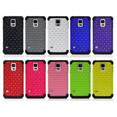 3 in 1 Star Bling Rhinestone Diamond Case For Samsung Galaxy S5 i9600
