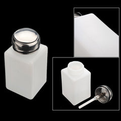 200ml Anti-static Alcohol Hard Plastic Bottle Container