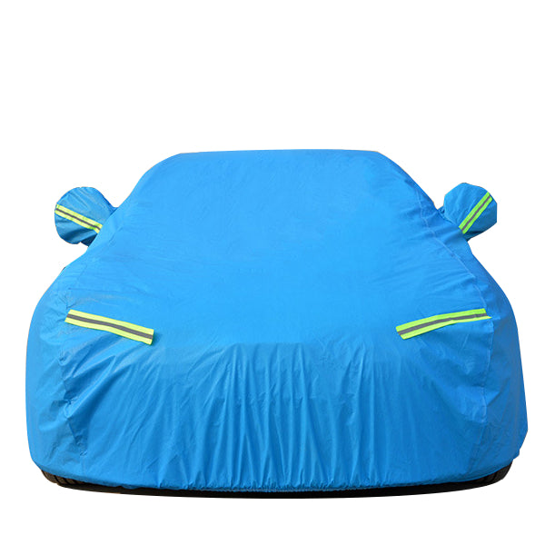 Car Cover Waterproof Rainproof Sunscreen UV Protection Cold resistant Snow prevention Blue for Honda Civic