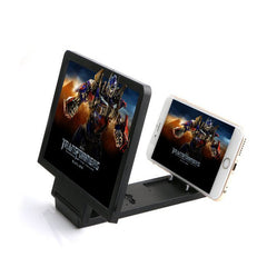 3D Folding Portable Mobile Phone Screen Magnifier Bracket Stand HD Video Amplifier