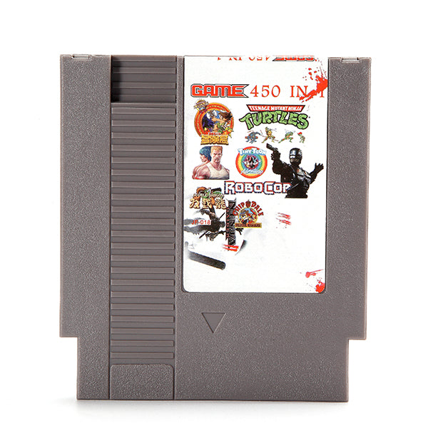 450 in 1 Super Game 72 Pin 8 Bit Game Card Cartridge for NES Nintendo