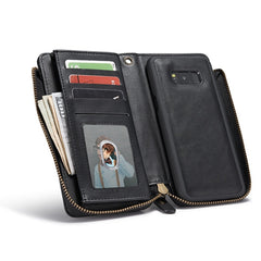 Bakeey™ Retro Multi-slots Kickstand Detachable Leather Wallet Zipper Case for Samsung Galaxy S8 Plus