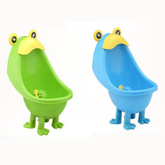 Frog Baby Potty Boy Bathroom Pee Trainer Standing Urinal Kid Wall-Mounted Toilet