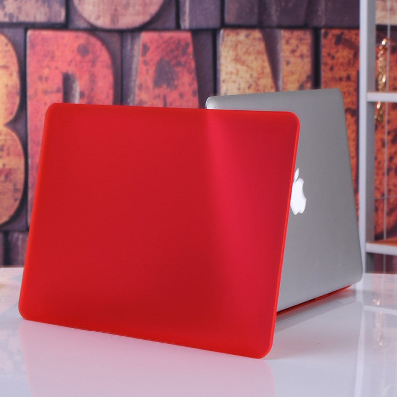 Cover Logo Frosted Surface Matte Hard Cover Laptop Protective Case For Apple Macbook Air 13.3 Inch