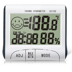 Mini Digital Thermometer Humidity Meter Room Indoor LCD Temperature Hygrometer