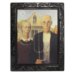Lenticular 3D Changing Face Horror Portrait Haunted Spooky Halloween Home Decorations