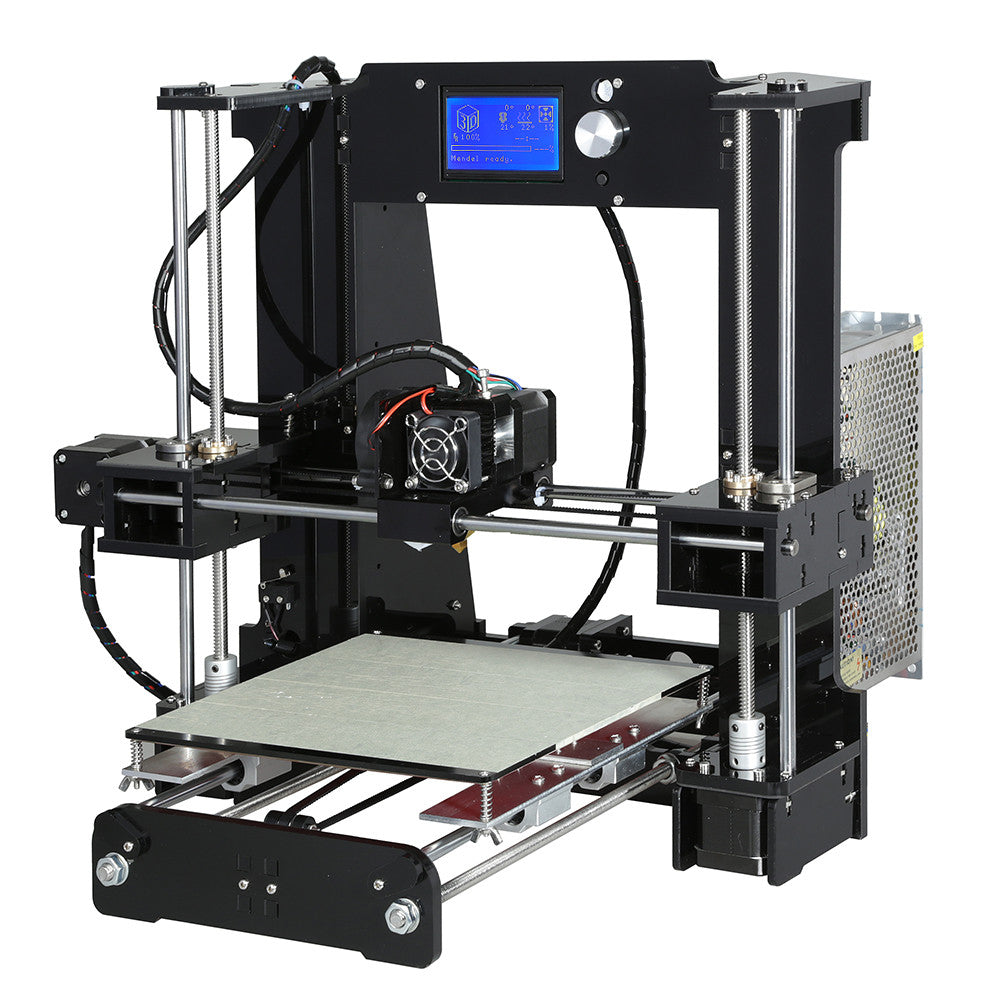Anet® A6 3D Printer DIY Kit 1.75mm-0.4mm Support ABS-PLA-HIPS