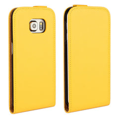 Up-down Flip PU Leather Case Cover For Samsung GALAXY S6 Edge