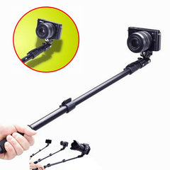 Monopod Selfie Stick With Remote Strap For GoPro Hero HD 4 3+ 3 2 1 iPhone Samsung Xiaomi Huawei