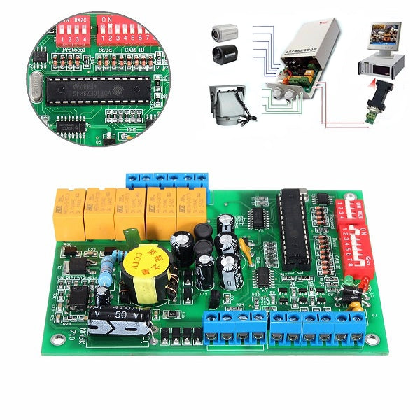 Universal Indoor RS485 Decoder Board Module For CCTV PTZ Camera System Arduino