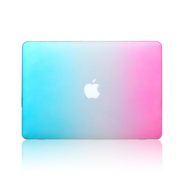 Fashion Rainbow Colorful Protective Shell Laptop Case Cover For Apple MacBook Retina 12 Inch