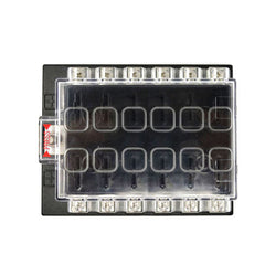 JZ5501 Jiazhan Car 12 Way Air Condition Fuse Box 12 Road Auto Circuit Protect Fuse Block Holder