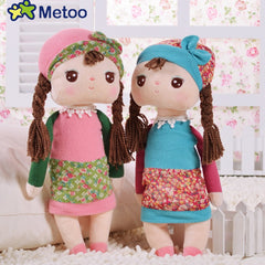 Metoo Angela Rural Dreaming Girl Bunny Plush Toys Figure Stuffed Toys Gift For Kids