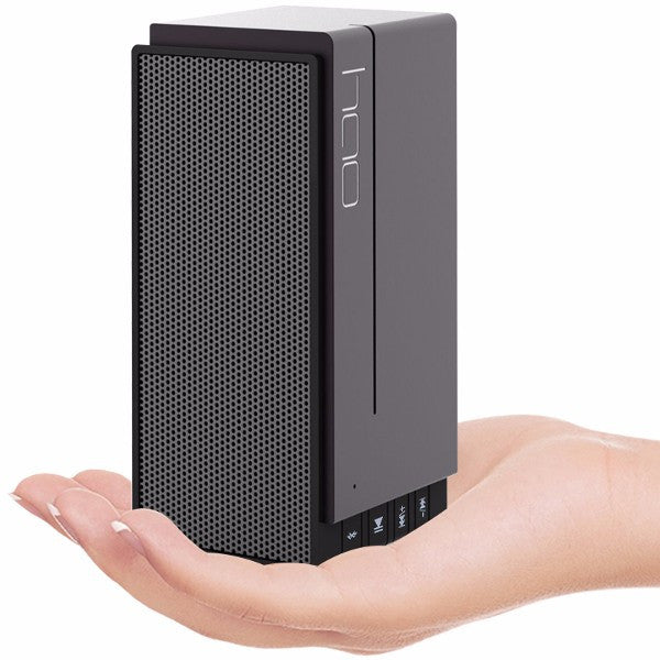 HAO DESIGN S303 Voice Prompt TF Card AUX Bass 360 Degree HIFI Hands-free Call Bluetooth Speaker