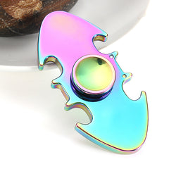 ECUBEE Zinc Alloy Hand Spinner Colorful Fish Finger Spinner Gadgets Focus Reduce Stress Gadget