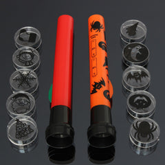 Halloween Projector Flashlight Trick Torch With 5 Projection Kids Toy