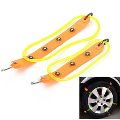 26mm/36mm Rubber Tire Anti Skid Belt Safety Snow Chain