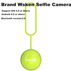 2015 New Brand WSKEN O.Camera Wireless Bluetooth Remote Control Self Timer Camera For iOS Android