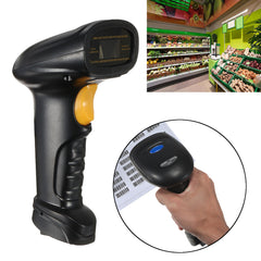 Wireless USB Bluetooth Barcode Scanner Pos Label Reader for IOS Android Windows
