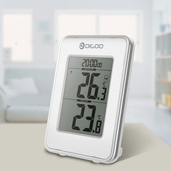 Digoo DG-TH1980 Home Comfort Digital LCD Indoor and Outdoor Thermometer Monitor Desk Clock