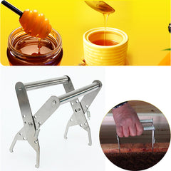 Stainless Steel Bee Hive Frame Holder Lifter Capture Grip Tool Beekeeping Equipmen Frame Bee Hive