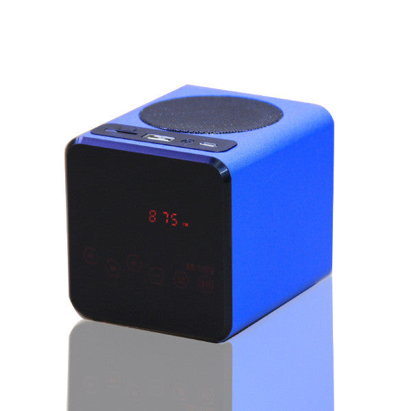KR-5100 Portable Touch LED Media Player Speaker For Mobile Phone