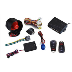 433.92MHz AW010 JP-164 Car Sercurity Alarm System with 2 Pcs Remotes