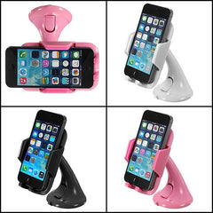 Universal Windshield Mount Bracket Car Holder For iPhone Smartphone