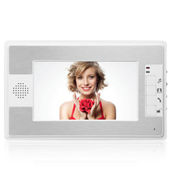 ENNIO SY813ML11 7 Inch Video Door Phone Doorbell Intercom Kit with Night Vision Camera and Monitor