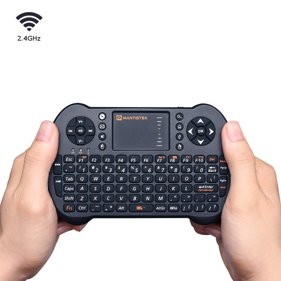 81e76cf44b6 MantisTek® MK1 2.4GHz Wireless Mini Keyboard with Touchpad Mouse Remote  Control for Android Windows