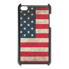 Scrub USA National Flag Hard Plastic Case For iPod Touch 4 4G